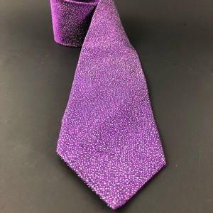 Dolcepunta Luxury Skinny Purple-Micro Dots tie